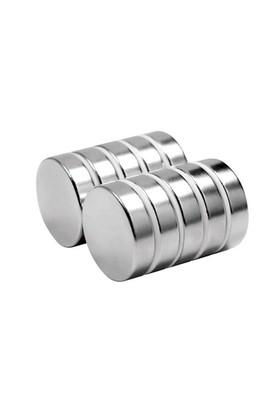 Neodyum Mıknatıs Silindir D20x5 mm (6'lı Paket)