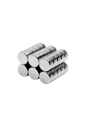 Neodyum Mıknatıs Silindir D8x4 mm (30'lu Paket)