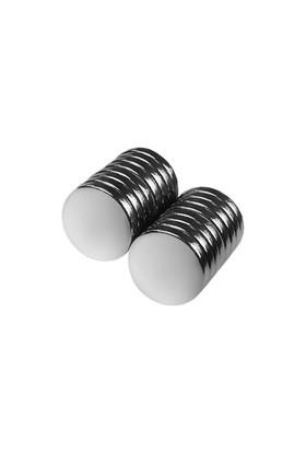 Neodyum Mıknatıs Silindir D9x1.5 mm (60'lı Paket)