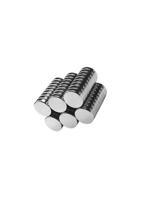 Neodyum Mıknatıs Silindir D7x2 mm (80`li Paket)