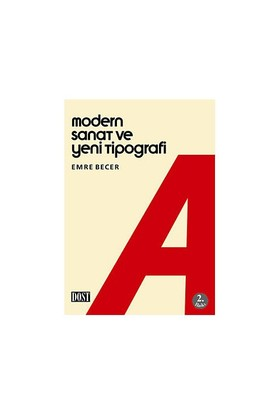 Modern Sanat Ve Yeni Tipografi-Emre Becer