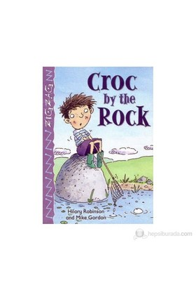 Croc By The Rock (A1)-Mike Gordon