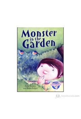 Monster In The Garden (A2)-Bruno Robert