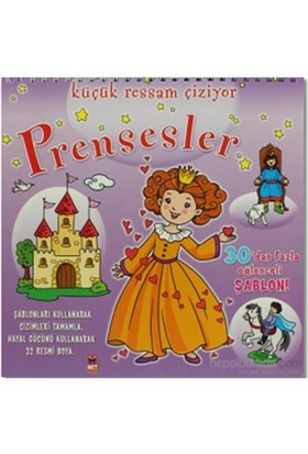 Küçük Ressam Çiziyor - Prensesler-Komisyon