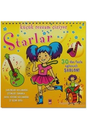 Küçük Ressam Çiziyor - Starlar-Komisyon
