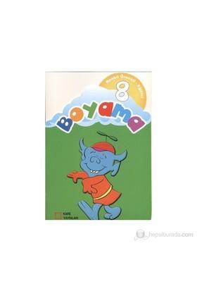 Renkli Örnekli Eğitici Boyama 8-Kolektif