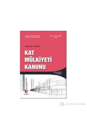 Açıklamalı - İçtihatlı Kat Mülkiyeti Kanunu - Ali Haydar Karahacıoğlu
