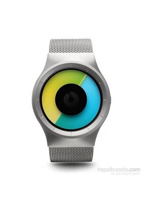 Ziiiro Celeste Chrome-Colored Unisex Kol Saati