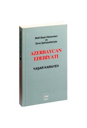 Azerbeycan Edebiyatı-Yaşar Karayev