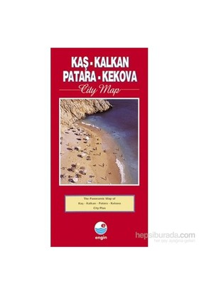 Kaş-Kalkan-Patara-Kekova City Map-Mehmet Hengirmen