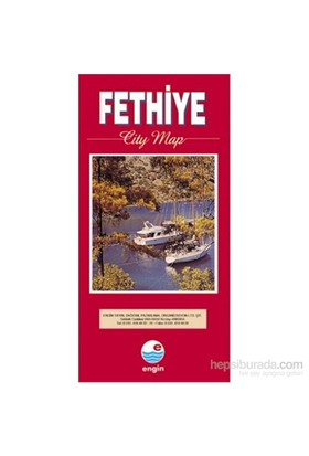 Fethiye City Map-Mehmet Hengirmen