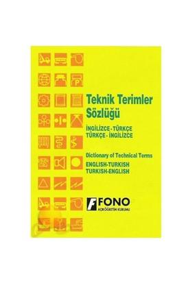 Fono İngilizce/Türkçe - Türkçe / İngilizce Teknik Terimler - Ali Bayram