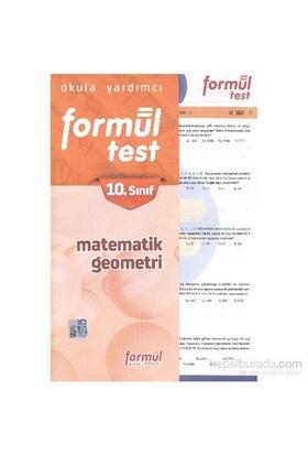 Formül 10. Sınıf Matematik Geometri Yaprak Testler-Komisyon