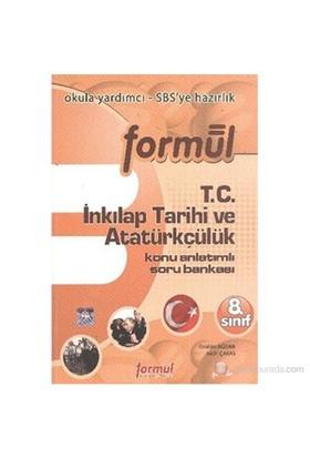 Formül 8. Sınıf SBS T.C. İnkilap Tarihi ve Atatürkçülük Konu Anlatımlı Soru Bankasi