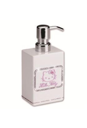 Hello Kitty Strass White Sıvı Sabunluk