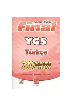 Final Sınava Doğru Ygs Türkçe 30 Deneme Sınavı-Kolektif