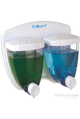 Flora Soft Sıvı Sabunluk İkiz 350 Ml +350 Ml