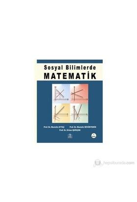 Sosyal Bilimlerde Matematik-Mustafa Sevüktekin