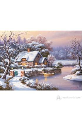 Kışlıkta Akşamüstü (1000 Parça)