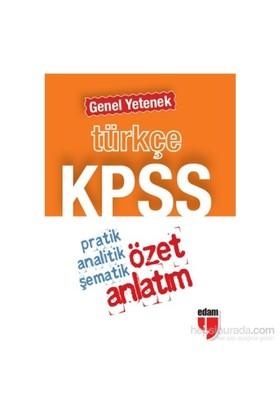 Edam 2014 Kpss Türkçe Genel Yetenek Özet Anlatım (Cep Boy)-Kolektif