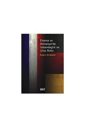 Fransa Ve Almanya'da Vatandaşlık Ve Ulus Ruhu