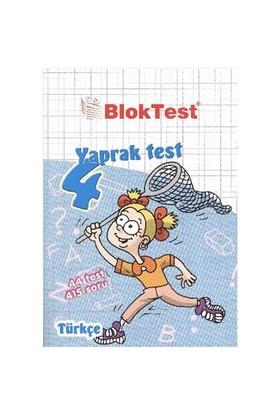 BlokTest 4. Sınıf Türkçe Yaprak Test