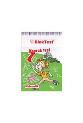 Bloktest 7. Sınıf Matematik Yaprak Test-Kolektif
