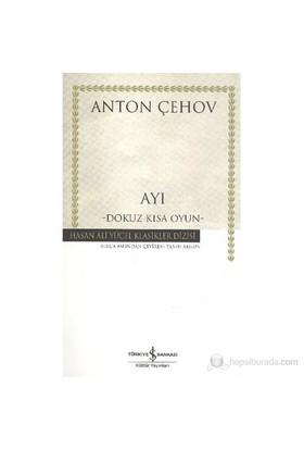 Ayı Karton Kapak-Anton Pavloviç Çehov