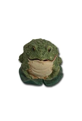 Chicos-Dekor Dekoratıf Akvaryum Aksesuarı Kurbağa