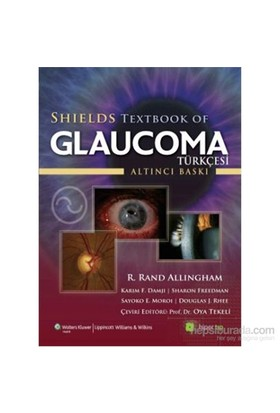 Shield Textbook Of Glaucoma(Türkçesi)