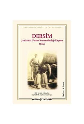 DERSİM - Jandarma Umum Kumandanlığı Raporu (1932)