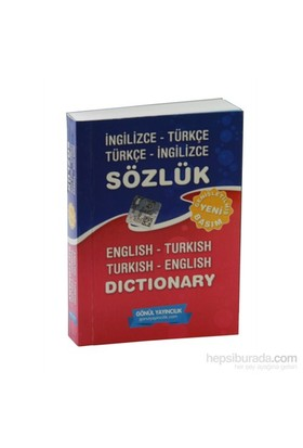 İngilizce Türkçe - Türkçe İngilizce Sözlük
