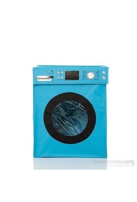 Nektar Kirli Çamaşır Sepeti Mavi