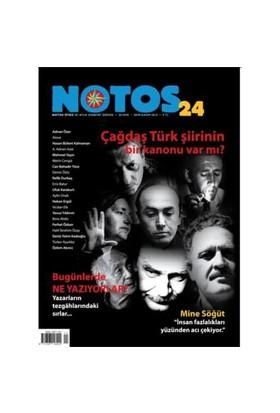 Notos 24. Sayı - Çağdaş Türk Şiirinin Bir Kanonu-Kolektif