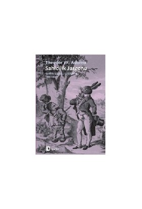 Sahicilik Jargonu-Theodor W. Adorno