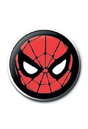Pyramid International Rozet Marvel Retro Spiderman Icon