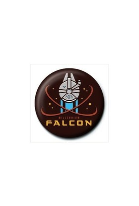 Pyramid International Rozet Star Wars Episode 7 Millennium Falcon