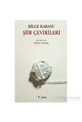 Şiir Çevirileri-Bilge Karasu