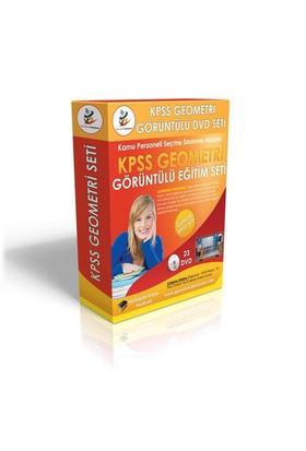 KPSS Geometri Görüntülü Eğitim Seti 23 DVD + Rehberlik Kitabı YENİ