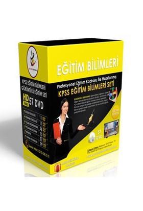 KPSS Eğitim Bilimleri Görüntülü Eğitim Seti 57 DVD + Rehberlik Kitabı