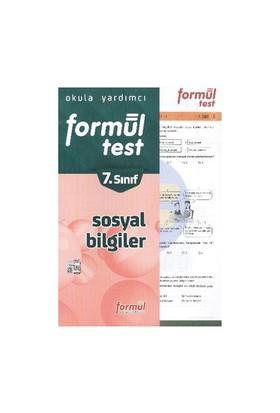 Formül Yayınları 7. Sınıf Sosyal Biligiler Yaprak Testleri-Kolektif