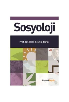 Sosyoloji-Halil İbrahim Bahar
