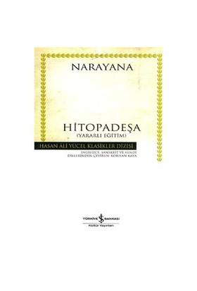 Hitopadeşa (Yararlı Eğitim)- (Ciltli)