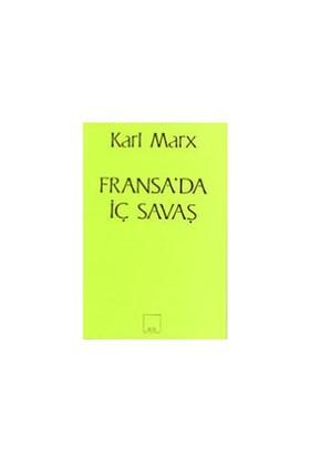 Fransa'Da İç Savaş-Karl Marx