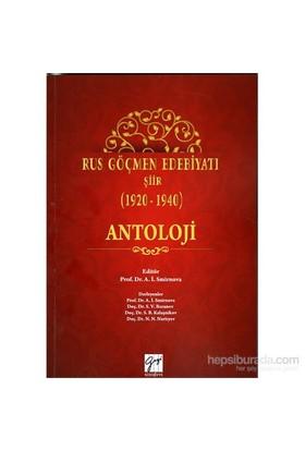 Rus Göçmen Edebiyatı Şiir (1920-1940)-Kolektif