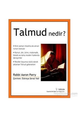 Talmud Nedir?-Aaron Parry