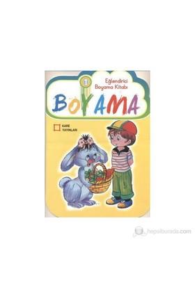Eğlendirici Çiz - Boya Serisi (6 Kitap) Boyama