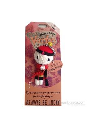 Voodoo Always Be Lucky Anahtarlık