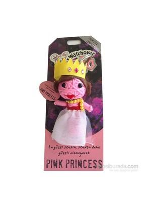 Voodoo Pink Princess Anahtarlık