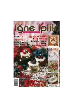 Tuva Yayıncılık İğne İplik 5. Sayı Nakış Dergisi-Kolektif